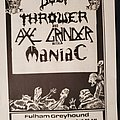 Bolt Thrower - Other Collectable - BoltThrower flyer