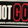 Cattle Decapitation - Other Collectable - Cattle Decapitation sticker Gore not Core