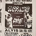 Massacre - Other Collectable - Massacre flyer