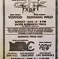 Voivod - Other Collectable - Noise Records Metal Assault flyer
