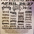 Ohio Deathfest 2002 flyer