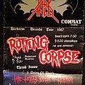 Dark Angel Tx tour poster