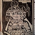 Marky Ramone And The Intruders - Other Collectable - Wackys Deli flyer