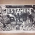 Testament - Other Collectable - Testament flyer