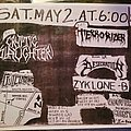 Terrorizer - Other Collectable - Terrorizer flyer