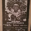Doom Brazilian Tour Poster