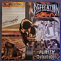 Defecation - Tape / Vinyl / CD / Recording etc - Defecation - Purity Dilution