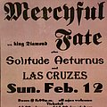 Mercyful Fate - Other Collectable - Mercyful Fate flyer