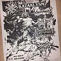 Kataklysm - Other Collectable - Kataklysm flyer