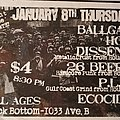 Ballgag - Other Collectable - Rock Bottom flyer