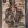 D.S.F.A. - Other Collectable - Sunday Night Metal flyer
