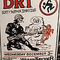 D.R.I - Other Collectable - D.R.I. flyer