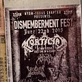 Mortician - Other Collectable - Dismemberment Fest ticket stub
