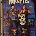 Misfits - Other Collectable - Misfits merch sheet