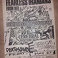 Fearless Iranians From Hell - Other Collectable - Fearless Iranians fromHell flyer
