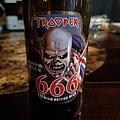 Trooper 666 beer bottle