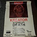Kreator Death tour poster
