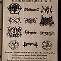 HOD - Other Collectable - Black Winter Solstice flyer