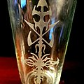 Hypocrisy - Other Collectable - Hypocrisy cross pint glass