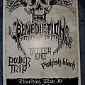 Benediction - Other Collectable - Chaos in Tejas flyer