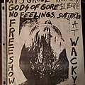 Gods Of Gore - Other Collectable - Gods of Gore flyer