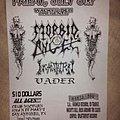 Morbid Angel - Other Collectable - Morbid Angel flyer