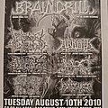 Brain Drill - Other Collectable - Goregrowler Ent. Flyer
