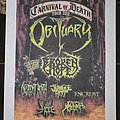 Obituary - Other Collectable - Carnival of Death 2012 flyer