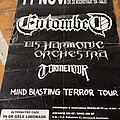Entombed - Other Collectable - Entombed mind blasting Terror tour poster