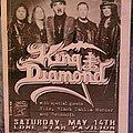 King Diamond - Other Collectable - King Diamond flyer