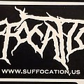 Suffocation - Other Collectable - Suffocation logo sticker