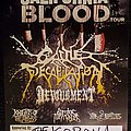 Cattle Decapitation - Other Collectable - The California Blood tour poster