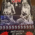 Cannibal Corpse tour poster