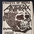 Anthrax - Other Collectable - Anthrax flyer