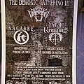 Vital Remains - Other Collectable - The Demonic Gathering III flyer