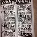 Suffocation - Other Collectable - White Rabbit flyer