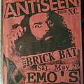 ANTISEEN - Other Collectable - Antiseen flyer
