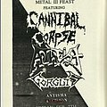 Cannibal Corpse - Other Collectable - Metal Feast 3 flyer
