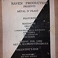 Massacre - Other Collectable - Metal Feast 4 flyer