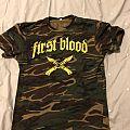 First Blood camo T TShirt or Longsleeve