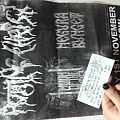 Rotting Christ signed ticket and poster