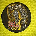 Iron Maiden circle patch