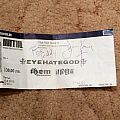 Eyehategod signed ticket Other Collectable
