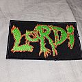 Lordi logo patch