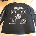 Old shirts and longsleeves black metal