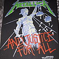 Metallica - justice for all backpatch