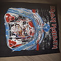 Iron maiden - aces high vintage backpatch