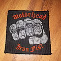 Motorhead iron fist Patch