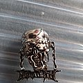 Megadeth vic pewter head pin