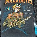 Megadeth - Patch - Megadeth so far so good so what back patch